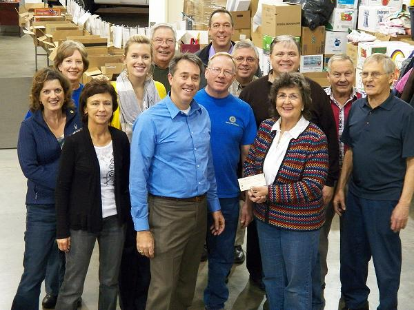 Rogers Rotary Holds Cross Work Night Rotary Club Of